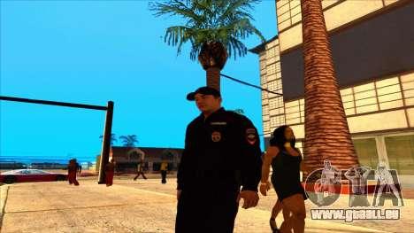Mitglied der PPP, in die Sommer-uniform der neue für GTA San Andreas dritten Screenshot