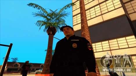 Mitglied der PPP, in die Sommer-uniform der neue für GTA San Andreas fünften Screenshot