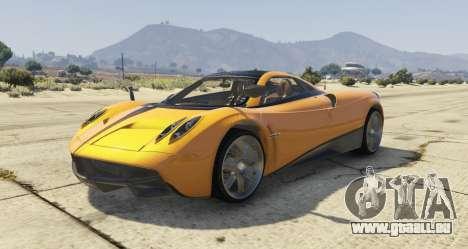 Pagani Huayra 2012 pour GTA 5