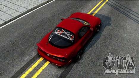 Mazda RX-7 Rocket Bunny pour GTA San Andreas vue arrière