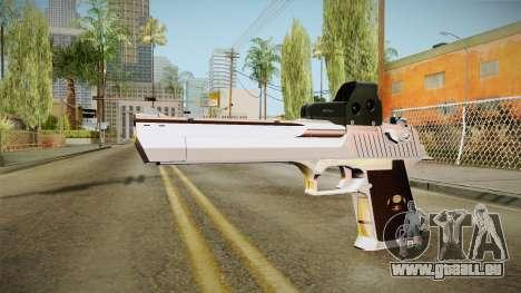 Desert Eagle mit eine neue Lackierung für GTA San Andreas