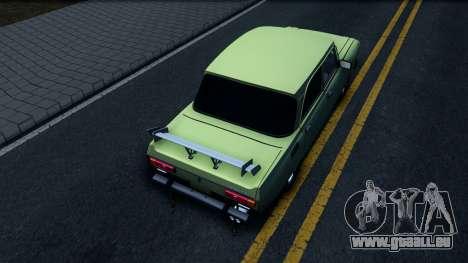 AZLK 2140 GT für GTA San Andreas Rückansicht