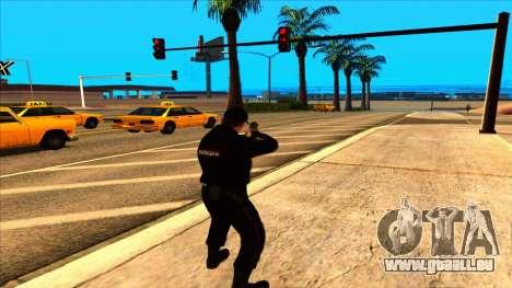 Mitglied der PPP, in die Sommer-uniform der neue für GTA San Andreas sechsten Screenshot