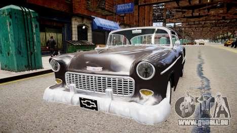 Chevrolet BelAir Sport Coupe 1955 pour GTA 4 est un droit