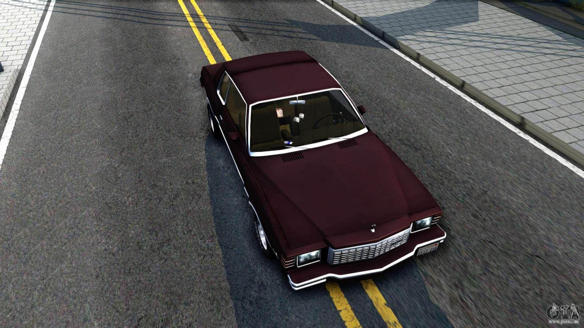 Chevrolet Monte Carlo 1976 Fr Gta San Andreas Chevy Rechten Ansicht