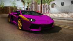 Lamborghini Aventador The Joker pour GTA San Andreas