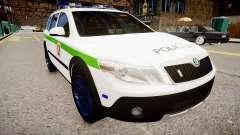 Lithuanian Police Skoda Octavia Scout