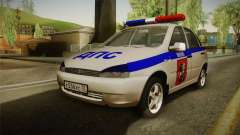 VAZ 1119 DPS pour GTA San Andreas