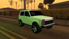 Niva 2121 Arménien pour GTA San Andreas