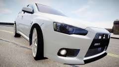 Mitsubishi Evolution X 2009 v2.0 pour GTA 4