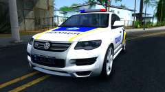 Volkswagen Touareg De La Police De L'Ukraine