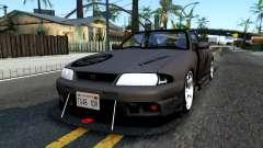 Nissan Skyline GT-R33 Fans Drift