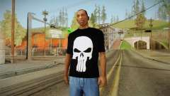 Crâne de t-shirt