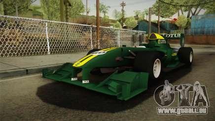 F1 Lotus T125 2011 v4 für GTA San Andreas