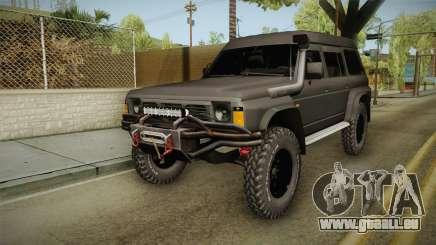 Nissan Safari Y60 pour GTA San Andreas