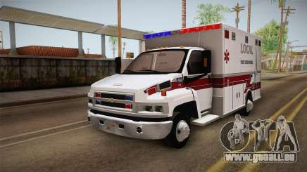 Chevrolet C4500 2008 Ambulance pour GTA San Andreas