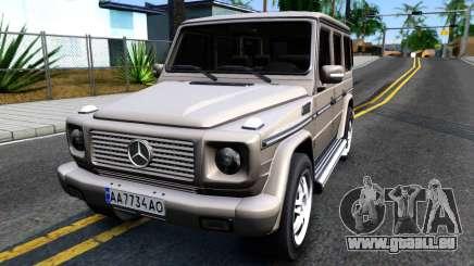 Mercedes-Benz G500 v2.0 pour GTA San Andreas