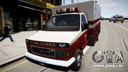 Vapid Steed Ambulance pour GTA 4