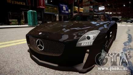 Mercedes Benz SLS Threep Edition für GTA 4