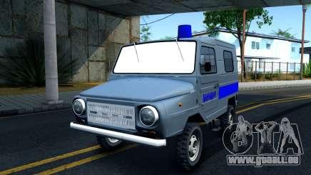LuAZ 969М Polizei für GTA San Andreas