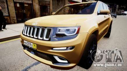 Jeep Grand Cherokee SRT8 2015 für GTA 4