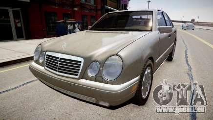 Mercedes E280 w210 1998 pour GTA 4