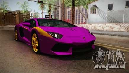 Lamborghini Aventador The Joker für GTA San Andreas