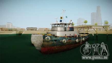 GTA 5 Buckingham Tug Boat für GTA San Andreas