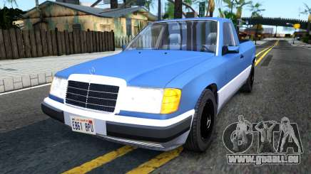 Mercedes-Benz W124 Pickup für GTA San Andreas