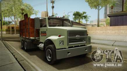 GTA 5 Vapid Scrap Truck Cleaner v2 IVF für GTA San Andreas