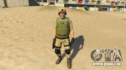 SAHP SWAT Ped Model 2.0.0 für GTA 5