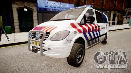 Mercedes-Benz Vito 115 CDI Dutch Police pour GTA 4