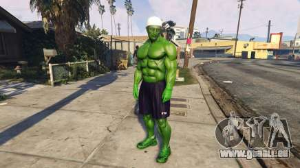 The Hulk human eyes pour GTA 5