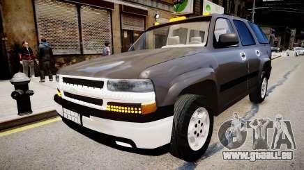 Chevrolet Tahoe Stock 2002 pour GTA 4