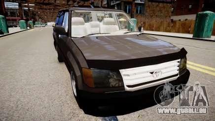 Toyota Land Cruiser VXR 1999 pour GTA 4