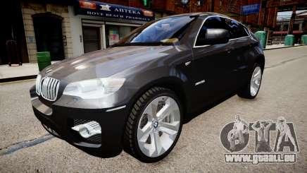 BMW X6 pour GTA 4