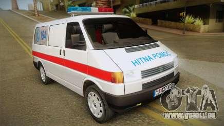 Volkswagen T4 Ambulance pour GTA San Andreas