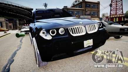 BMW X3 2.5Ti 2009 pour GTA 4