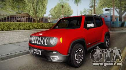 Jeep Renegade 2017 pour GTA San Andreas