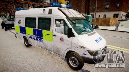 Mercedes-Benz Sprinter Police pour GTA 4
