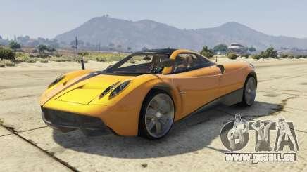 Pagani Huayra 2012 für GTA 5