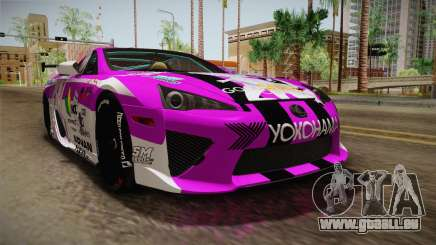 Lexus LFA Emilia The Purple of ReZero pour GTA San Andreas