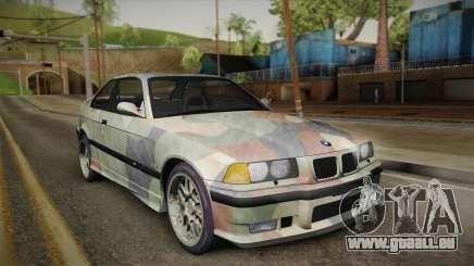BMW M3 E36 TANK pour GTA San Andreas