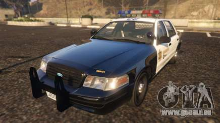 Ford Crown Victoria P71- LA Co. Sheriff 1999 für GTA 5