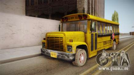 Driver Parallel Lines - School Bus pour GTA San Andreas