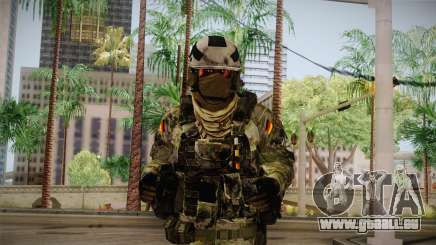 Multitarn Camo Soldier v3 pour GTA San Andreas