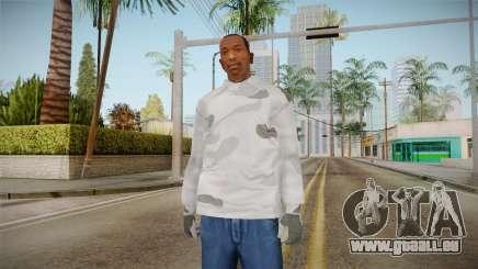 L'hiver hoodies pour GTA San Andreas