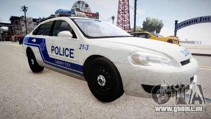 Chevrolet Impala Police für GTA 4