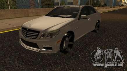 Mercedes-Benz E63 Armenian pour GTA San Andreas