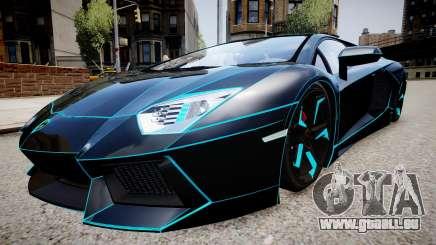 Lamborghini Aventador TRON Edition für GTA 4